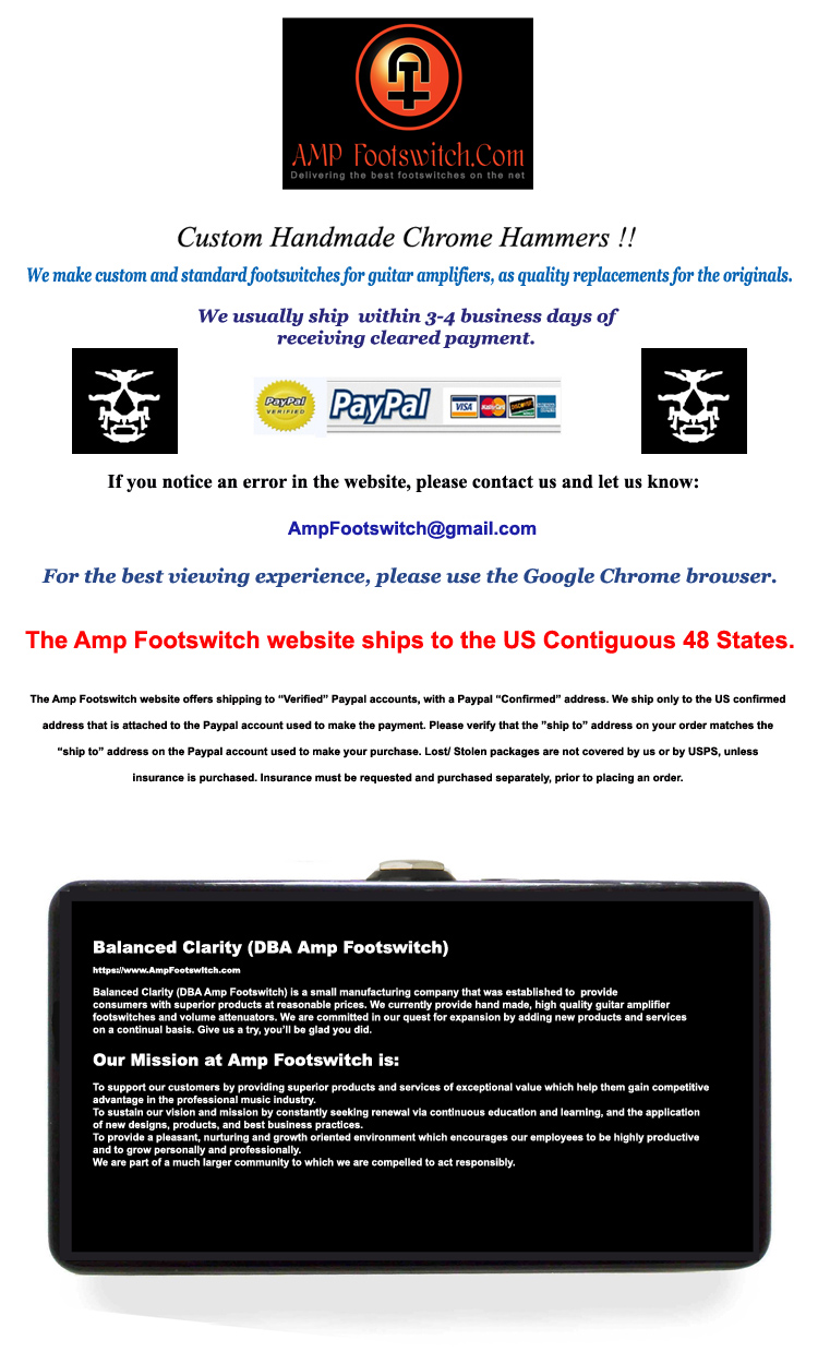 AmpFootswitch Website Banner Final 9 12 2016